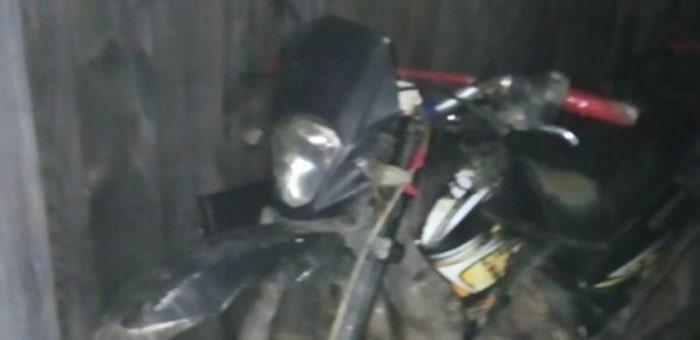 13-летний подросток неудачно прокатился на мамином мотоцикле