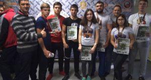 Победы горно-алтайских спортсменов в соревнованиях по армрестлингу