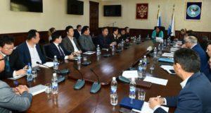 Делегация бизнесменов из Кореи посетила Горный Алтай