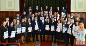 Олег Хорохордин вручил дипломы победителям конкурса «Команда РАзвития»
