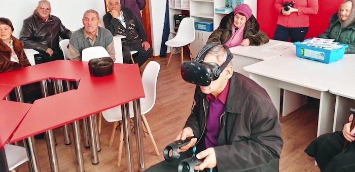 Ветераны посетили новые объекты Майминского района