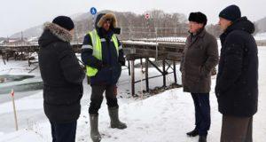 В Усть-Кумире началось строительство нового моста через Чарыш