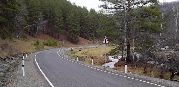 Свыше 60 километров дорог отремонтировано в этом году в Горном Алтае