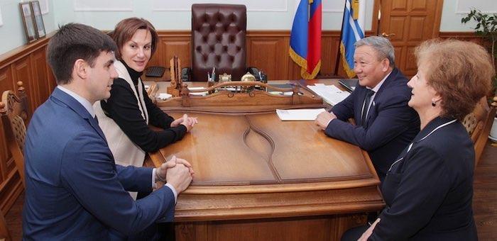 Эл Курултай и Заксобрание Алтайского края продолжают сотрудничество