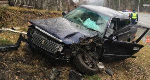 Пенсионерка устроила аварию на Чуйском тракте