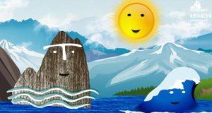 Мультфильм о том, как Гора и Телецкое озеро слушали Солнце