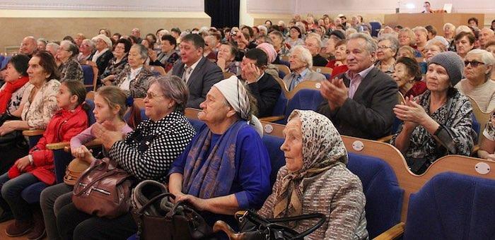 Закрытие месячника пожилого человека состоялось в Горно-Алтайске
