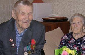 95-летний юбилей отметил ветеран Великой Отечественной войны Григорий Пашков