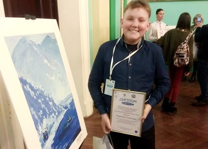 Юный художник с Алтая вышел в финал фестиваля одаренных детей «Уникум»