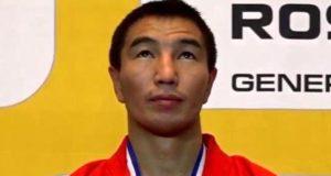 Родион Асканаков второй раз стал чемпионом мира по боевому самбо