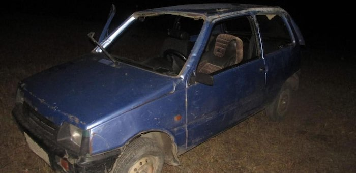 Нетрезвый водитель без прав устроил аварию на ночной дороге