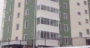 Завершено строительство дома обманутых дольщиков на ул. Чаптынова