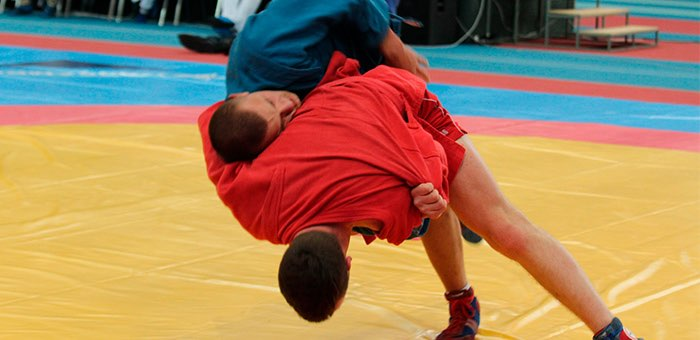 Братья Редькины стали чемпионами Сибири по боевому самбо