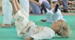 Детей научат технике безопасного падения