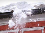 Жителей республики призывают к осторожности из-за возможного схода снега с крыш