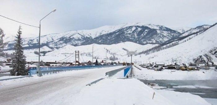Открыт проезд по тюнгурскому мосту через Катунь