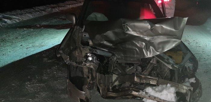 Лобовое столкновение машин произошло по вине жительницы Чойского района