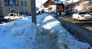 Подрядчика оштрафовали за 100 тыс. рублей за плохую очистку тротуаров от снега