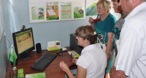 В Беш-Озеке и Барагаше начала работу «Электронная деревня»