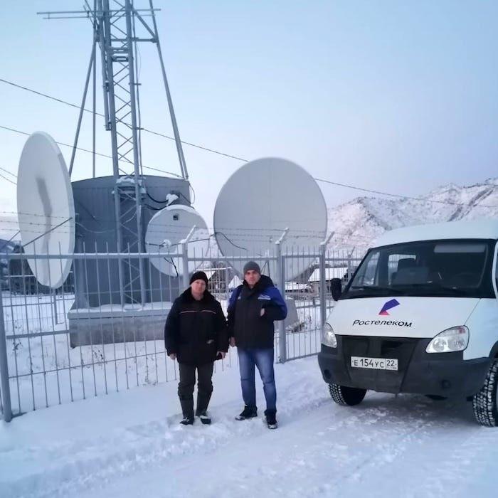 «Ростелеком» построил на Алтае 800 км оптики и подключил к интернету 82 объекта РТРС