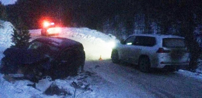 Нетрезвый житель Чемальского района протаранил новосибирский Lexus
