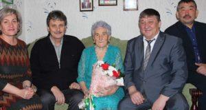 Ветеран Великой Отечественной отметила 90-летие