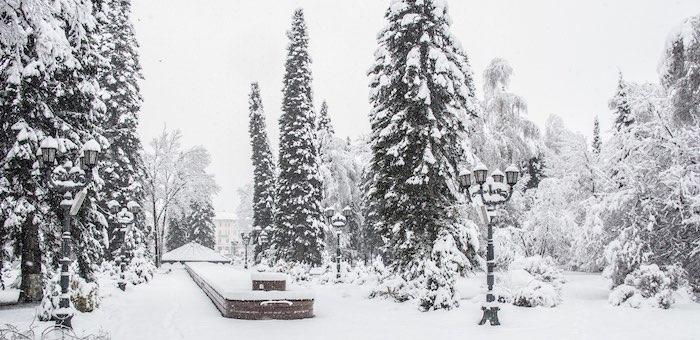 В выходные дни синоптики обещают снег и ветер