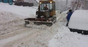 Устранение последствий снегопада обсудили в правительстве республики
