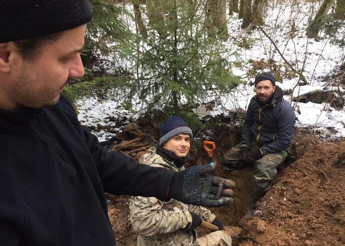 На Смоленщине обнаружены останки красноармейца с Горного Алтая
