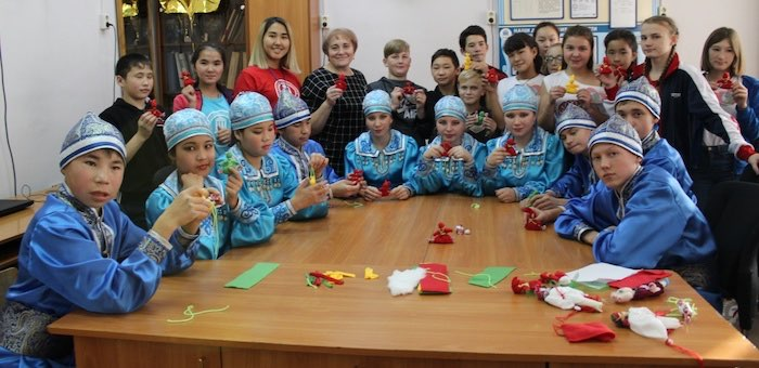 Школьники из Саратана стали победителями Фестиваля национальных культур