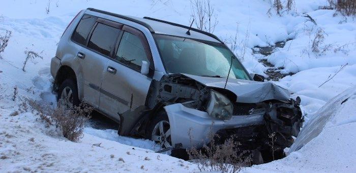 Возле Камлака разбился Nissan X-Trail