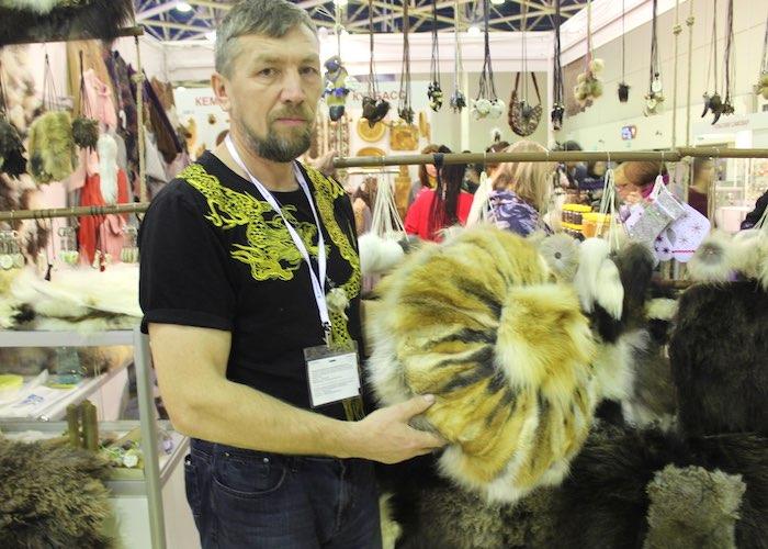 Предприятия с Алтая приняли участие в выставке народных промыслов России