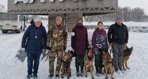 Команда аграрного колледжа одержала победу в соревнованиях по собаководству