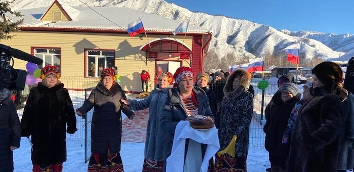 Дом культуры после капитального ремонта открылся в селе Усть-Кумир