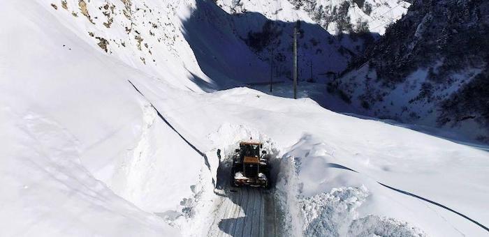 МЧС опубликовало перечень наиболее лавиноопасных участков на дорогах Алтая