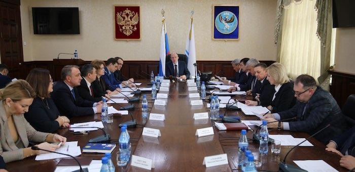 Олег Хорохордин заявил о завершении формирования правительства
