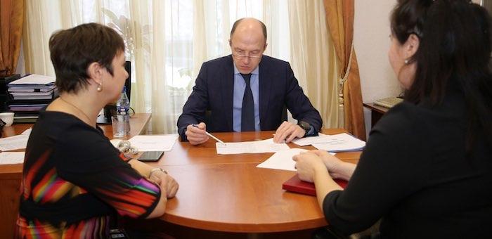 Глава республики провел прием граждан