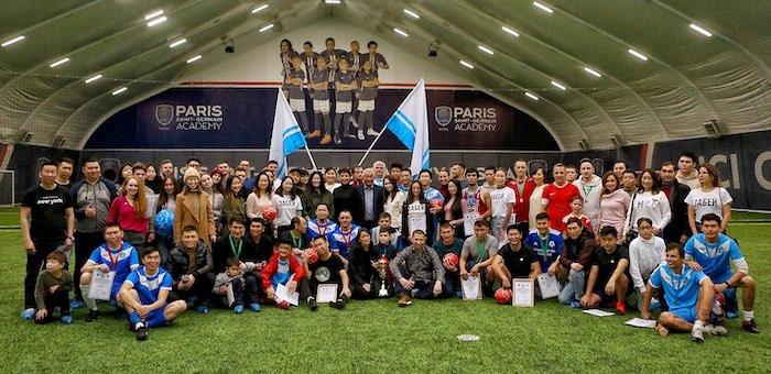 В Москве алтайское землячество провело турнир по мини-футболу