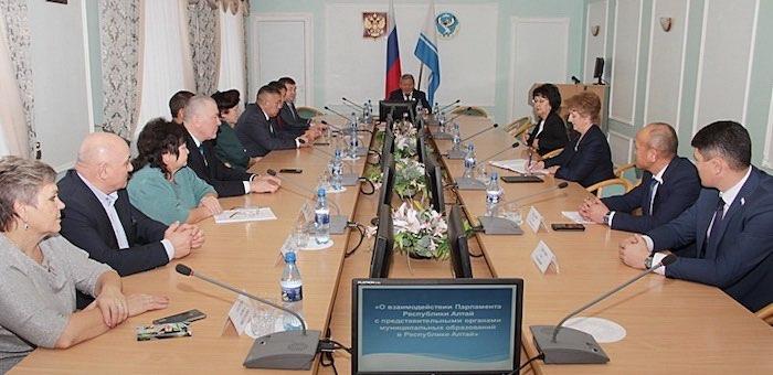 В Госсобрании прошло совещание с районными депутатами