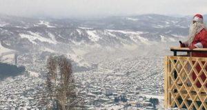 Слабоморозная погода без осадков установилась в праздничные дни на Алтае