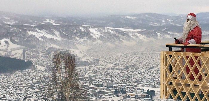 Слабоморозная погода установилась в праздничные дни на Алтае
