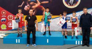 Борцы с Алтая заняли призовые места на соревнованиях в Бердске
