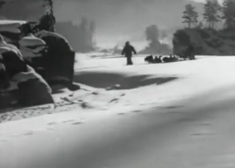 Как жители Ойротии встречали 1945 год