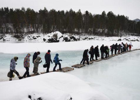 Чемальский квест «Голубые озера»: Доберись – искупнись – вернись