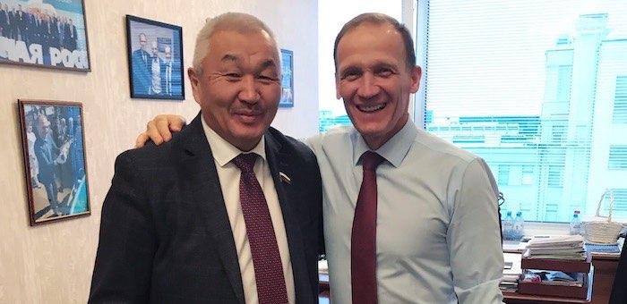 Родион Букачаков возглавил республиканскую федерацию биатлона