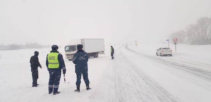 Информация для желающих поехать в соседний регион: в Алтайском крае снова бушует непогода