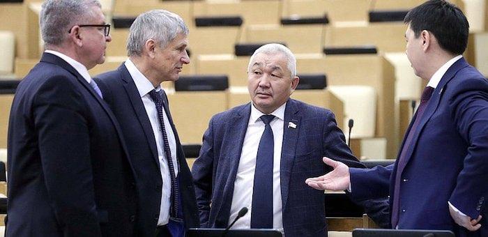 Алтайские депутаты Госдумы проголосовали за поправки в конституцию страны