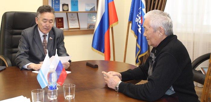 Иван Белеков рассмотрел обращения граждан в ходе личного приема