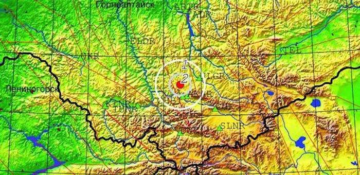 В Улаганском районе произошло небольшое землетрясение