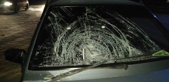 1 января три пешехода попали в больницу из-за неадекватных водителей